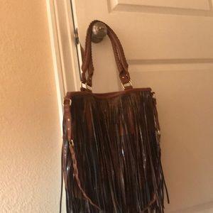 Steve Madden leather bag. Never used